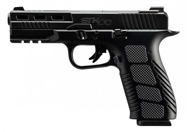 Rock Island Armory STK100 9mm pistol – left side