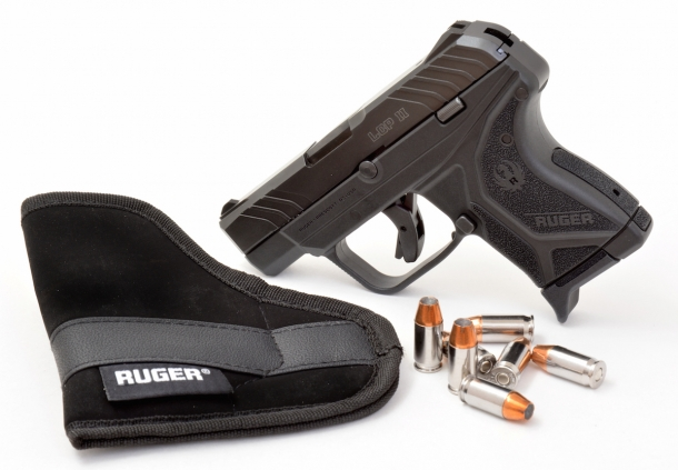 Ruger's LCP II pocket pistol represents an improvement over the Company's line of subcompact .380 Auto concealable pistols platform
