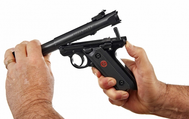 Until your Mark IV or 22/45 pistol has been retrofitted or you verify that it is not subject to the recall, Ruger and GUNSweek.com strongly recommend that you not use your pistol