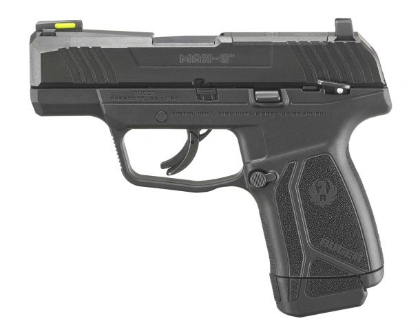 Ruger MAX-9 pistol, left side