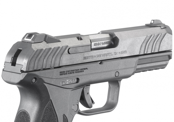The Ruger Security-9 features a double-action only trigger and an internal hammer, like the pocket LCP II model