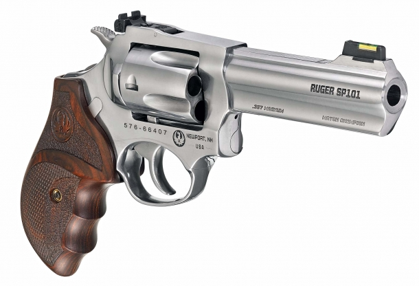 "The Ruger SP101 Match Champion also features a 5-shots cylinder and a 4.2"" barrel"