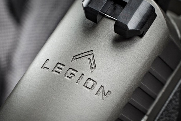 The logo of the SIG Sauer Legion Series