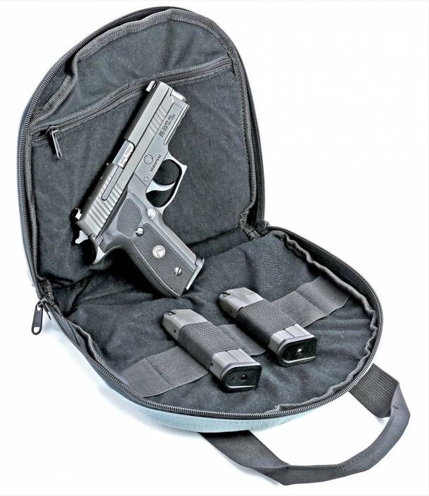An optional pistol carry bag is available at the online SIG Sauer store