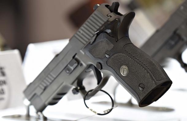 The SIG Sauer P226 Legion SAO pistol