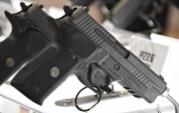 The SIG Sauer P226 Legion pistol