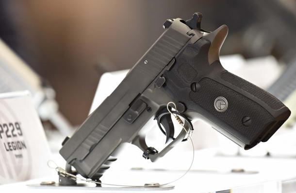 The SIG Sauer P229 Legion pistol