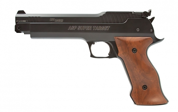 SIG Sauer Super Target air pistol: the perfect entry level 10m target air gun