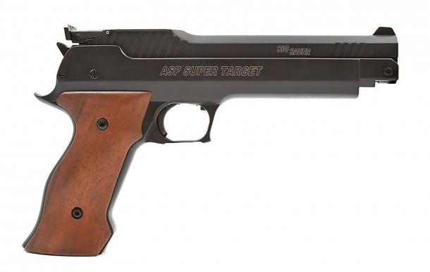 SIG Sauer Super Target air pistol: the perfect entry level 10m target air gun