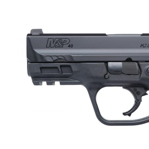 "The Smith & Wesson M&P M2.0 3.6"" Compact pistols are available in 9mm and .40 caliber"