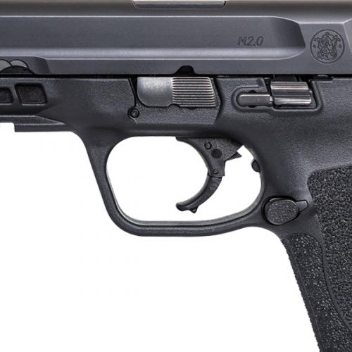 The M&P M2.0 line improves performance with a fine-tuned, crisper trigger, lighter pull and a tactile and audible reset