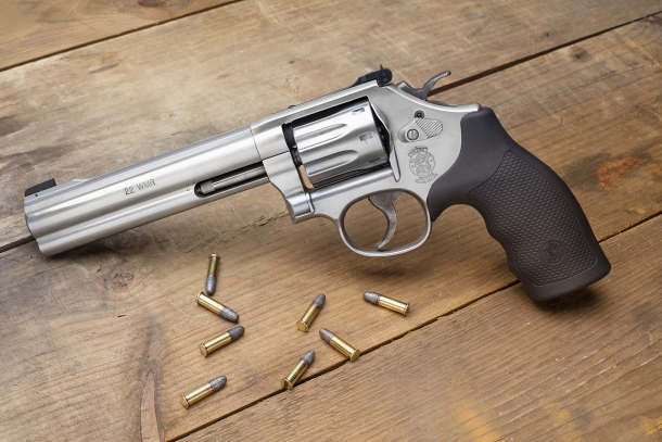 Smith & Wesson Model 648 .22 WMR revolver is back