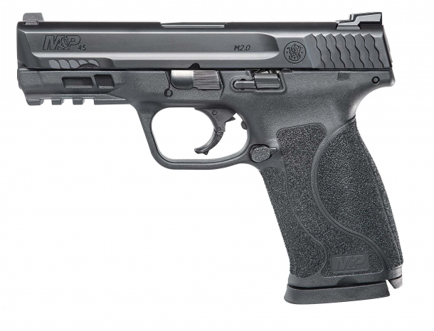 The M&P45 M.20 Compact pistol in its standard configuration