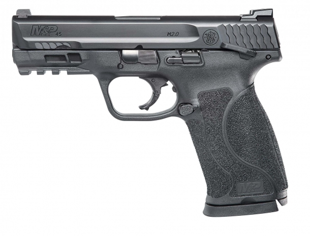 The M&P45 M.20 Compact pistol with ambidextrous thumb safety