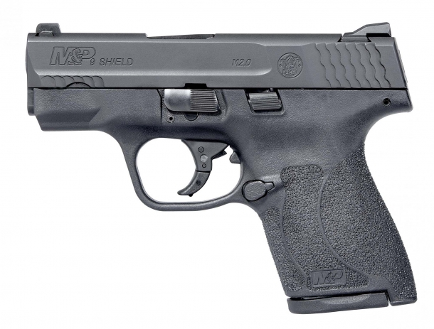 Smith & Wesson M&P Shield M2.0 pistol series - left view