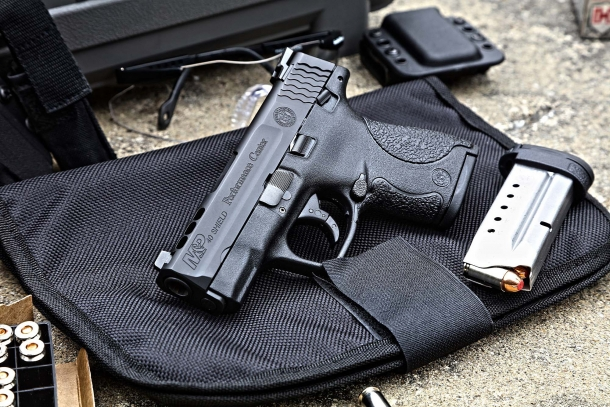 M&P SHIELD ported models are now available with Tritium night sights