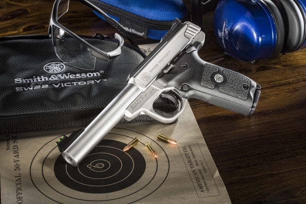 The SW22 Victory is a modular target pistol with high-end features, yet affordable from the price point of view