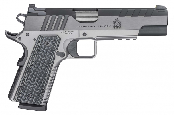 Pistola Springfield Armory Emissary calibro .45 ACP – lato destro