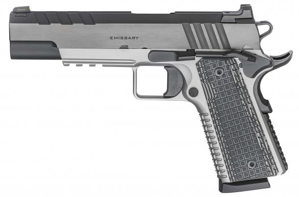 Pistola Springfield Armory Emissary calibro .45 ACP – lato sinistro