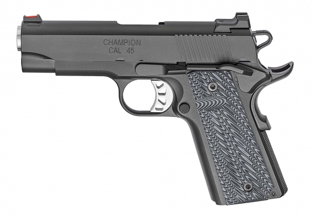 The left side of the new Springfield Armory RO Elite Champion pistol