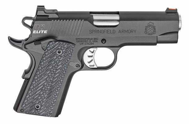 Springfield Armory's new RO Elite Compact pistol, seen from the right side