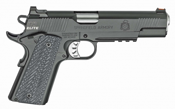 Right side view of the Springfield Armory RO Elite Operator pistol