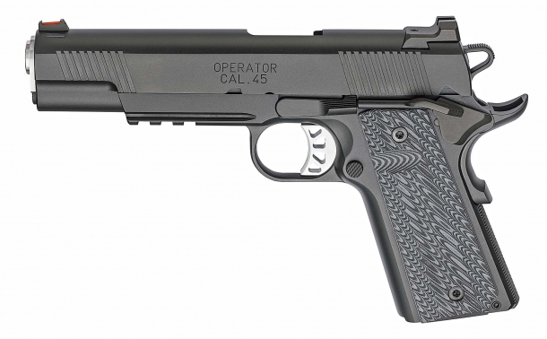Left side view of the Springfield Armory RO Elite Operator pistol