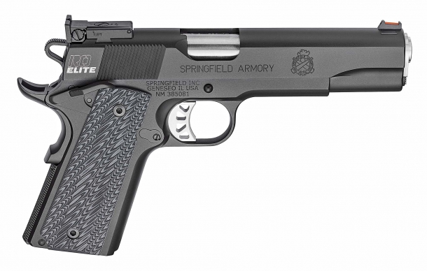 Right side of the Springfield Armory RO Elite Target pistol