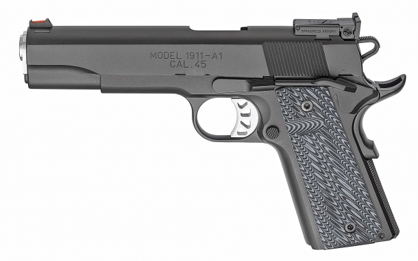Left side of the Springfield Armory RO Elite Target pistol