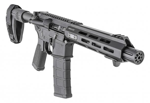 Come tutte le armi realizzate dalla Springfield Armory, anche la SAINT AR-15 Pistol è un prodotto di alta qualità