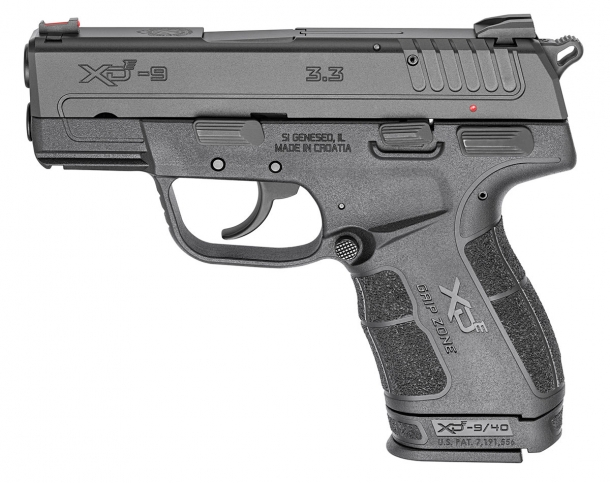 Left side of the Springfield Armory XD-E pistol