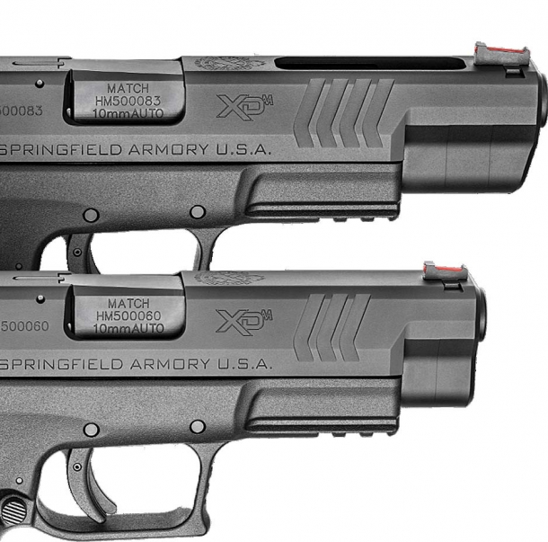 The new 10mm Springfield XD(M) pistols will be available in two different barrel lengths