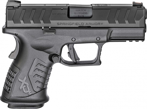 Springfield Armory XD-M Elite 3.8 Compact 9mm semi-automatic pistol – right side