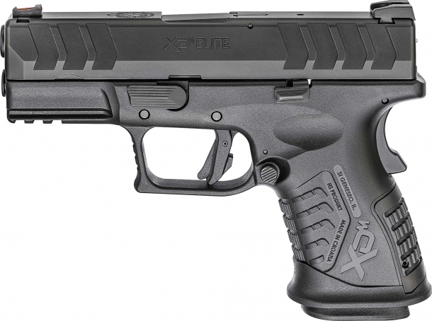 Springfield Armory XD-M Elite 3.8 Compact 9mm semi-automatic pistol – left side