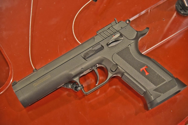 La pistola Tanfoglio Limited Custom P