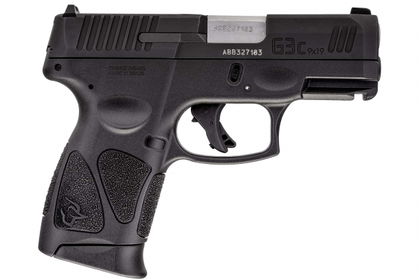 Taurus G3c Compact 9mm pistol, right side