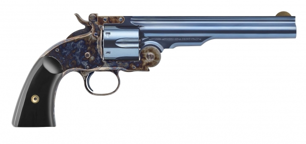 The Uberti Hardin revolver, a Smith & Wesson No.3 2nd Model top-break replica