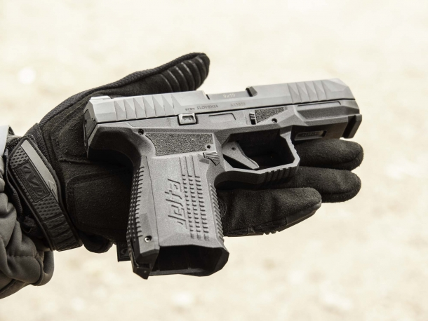 Rex Firearms Delta 9mm striker-fired pistol