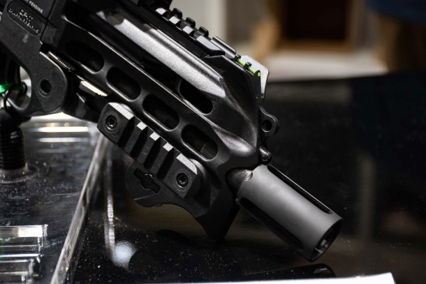 Chiappa Firearms CBR-9 Black Rhino pistol, now available in the US