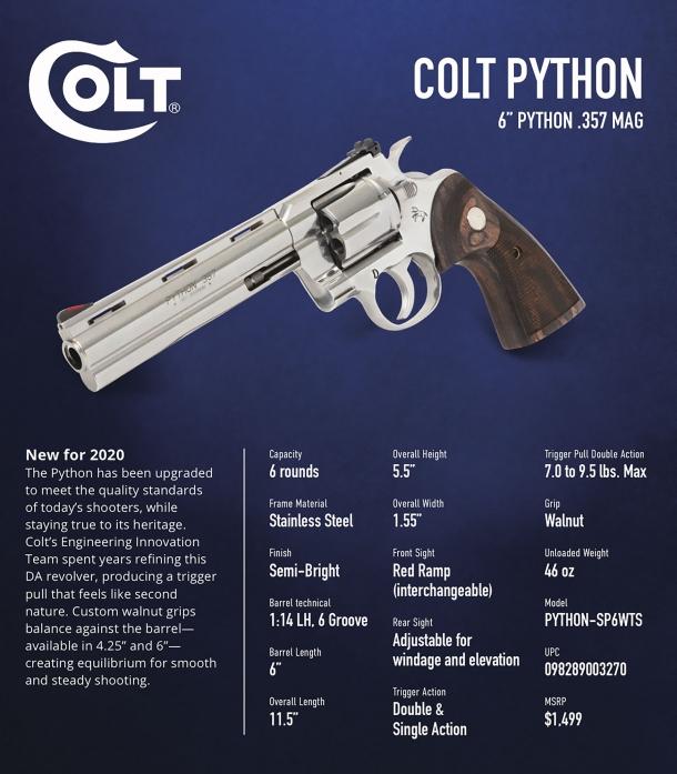 Il Colt Python è tornato!