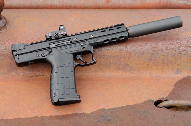 Kel-Tec CP33 .22 Long Rifle competition pistol