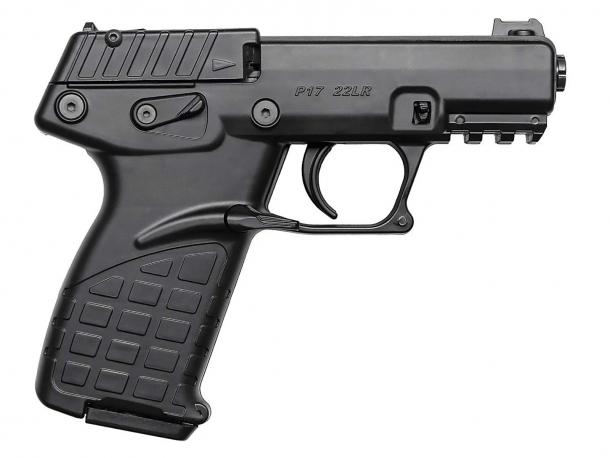 Pistola Kel-Tec P17 calibro .22 Long Rifle: pratica e versatile