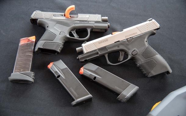 Mossberg MC2c compact striker-fired pistol