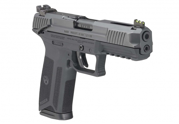 Ruger-57, la nuova pistola in calibro 5.7x28 mm