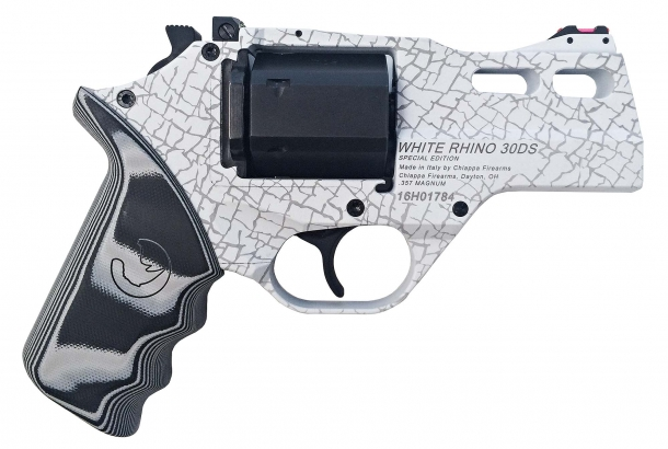 The White Rhino is a limited issue model, offering a Cerakote finish