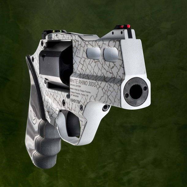The White Rhino revolver is available in SA/DA or SAO variants