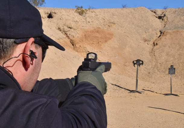 Glock's M.O.S. pistols can be equipped with optical sights for competition, defense, or tactical purposes