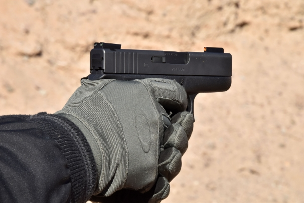 Glock's subcompact pistols line includes the .380 cal. G42 and the 9mm G43