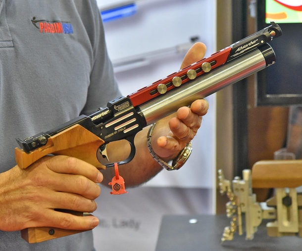 Pardini evolved the design of its signature K12 competition airgun