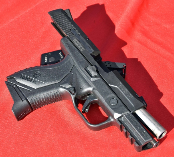 Ruger's feature-rich American Pistol Compact is now available in a .45 Auto variant